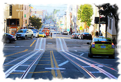 Photograph - Streets Of San Francisco by Lori Mellen-Pagliaro