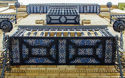 Photograph - Streets Of Seville - Azulejos by Andrea Mazzocchetti