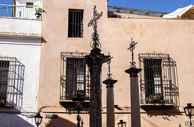 Photograph - Streets Of Seville - Calle De Las Cruces 3 by Andrea Mazzocchetti