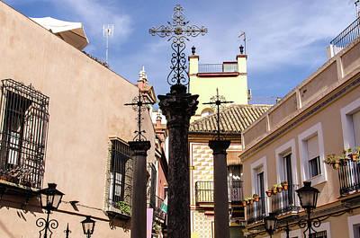 Photograph - Streets Of Seville - Calle De Las Cruces 4 by Andrea Mazzocchetti