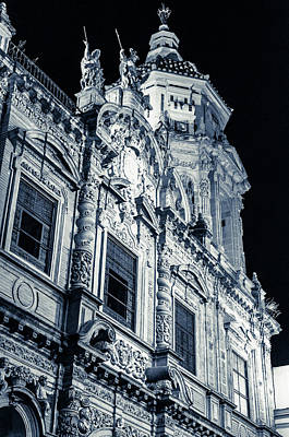 Photograph - Streets Of Seville - Church Of St Luis 2 by Andrea Mazzocchetti