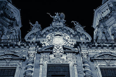 Photograph - Streets Of Seville - Church Of St Luis by Andrea Mazzocchetti