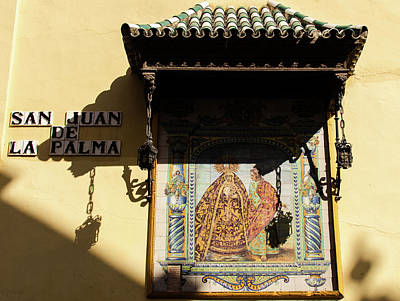 Photograph - Streets Of Seville - San Juan De La Palma by Andrea Mazzocchetti