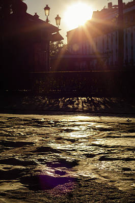 Photograph - Streets Of Seville - The Roman Road by Andrea Mazzocchetti