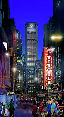 Photograph - Streets Of Times Square by Mark Andrew Thomas