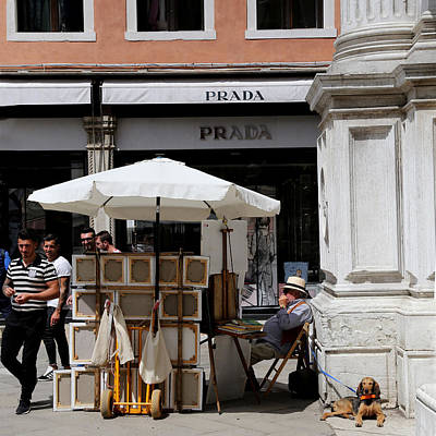 Photograph - Streets Of Venice 11 by Andrew Fare