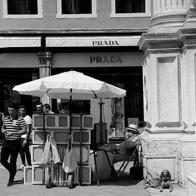 Photograph - Streets Of Venice 11b by Andrew Fare