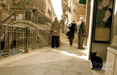 Photograph - Streets Of Venice II by Louise Fahy