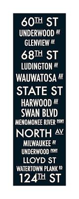 Digital Art - Streets Of Wauwatosa by Geoff Strehlow