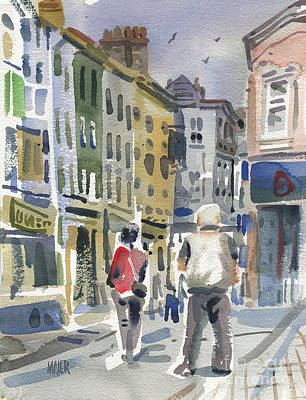 Painting - Streets Of Wexford by Donald Maier