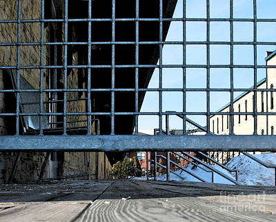 Scale Digital Art - Streetscape 3 Housing by Gary Everson