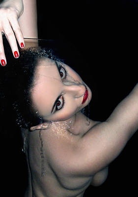 Self Portrait Photograph - Strength - Self Portrait by Jaeda DeWalt