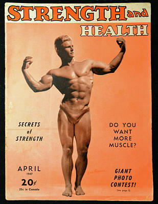 Pyrography - Strength And Health April 1947 by David Lee Thompson
