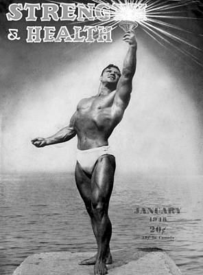 Photograph - Strength And Health Jan 1948 by David Lee Thompson