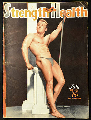 Photograph - Strength And Health July 1943 by David Lee Thompson