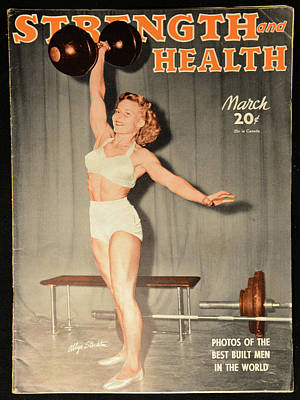 Photograph - Strength And Health March 1943 by David Lee Thompson