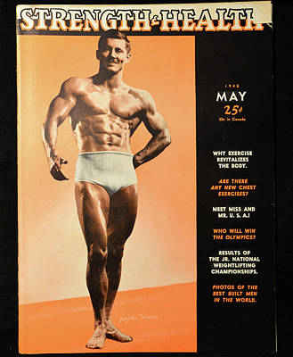 Photograph - Strength And Health May 1948 by David Lee Thompson