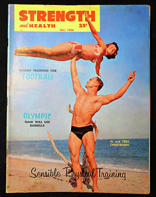 Photograph - Strength And Health Oct 1956 by David Lee Thompson