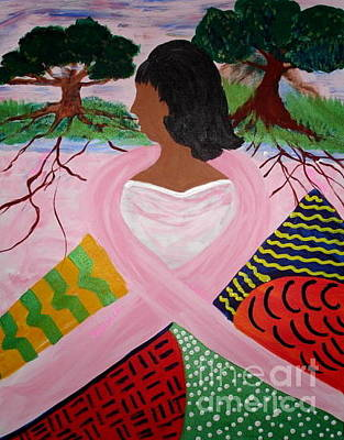 Painting - Strength Of Our Roots by Sheila J Hall