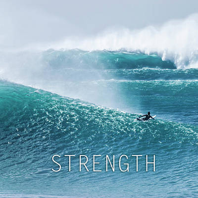 Photograph - Strength. by Sean Davey