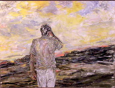 Painting - Strife Of An Honest Man by Caroline Krieger Comings