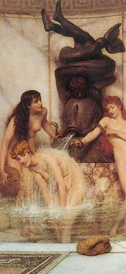 Digital Art - Strigils And Sponges by Sir Lawrence Alma Tadema