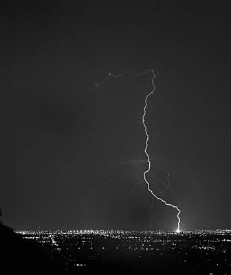Weather Photograph - Strike On The City. by James BO  Insogna