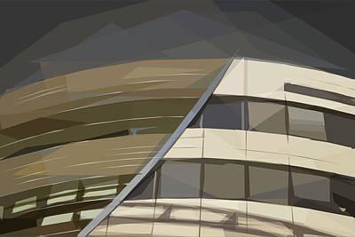 Digital Art - Strike Through - The Skywards Series by ISAW Gallery