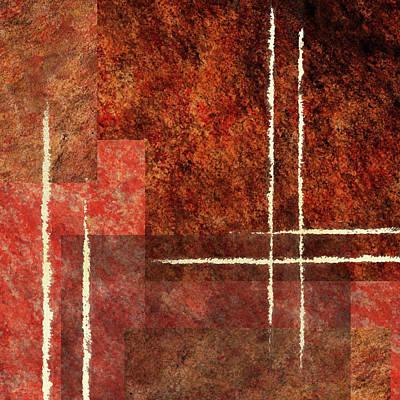 Painting - Striking Abstract IIi by Irina Sztukowski