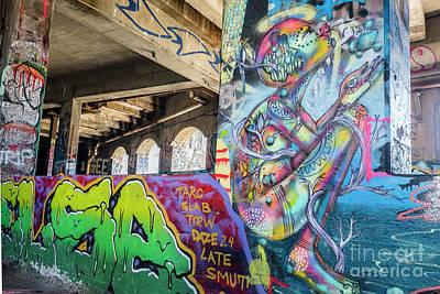 Photograph - Striking Graffiti by Joann Long