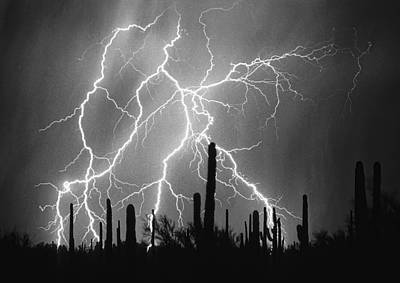 Lightning Bolt Photograph - Striking Photography In Black And White by James BO  Insogna