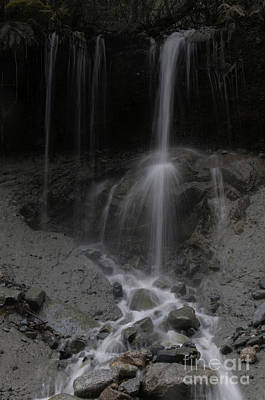 Photograph - String Falls by Rod Wiens