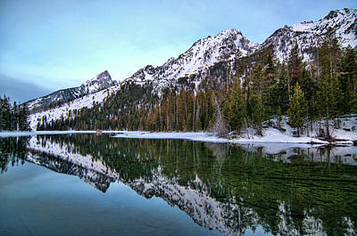 Photograph - String Lake 2 by Steve Stuller