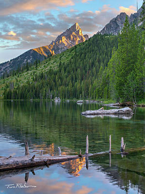 String Lake Art Print by Tim Fitzharris