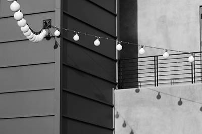Photograph - String Of Ideas Black And White by Jill Reger