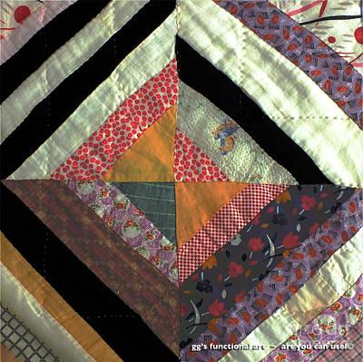 String Squares Art Print