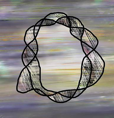 Atom Drawing - String Theory by Rachel Christine Nowicki