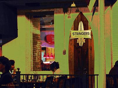 Photograph - Stringers by Jennie  Richards