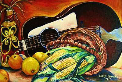 Painting - Strings Attached by Carole Spandau