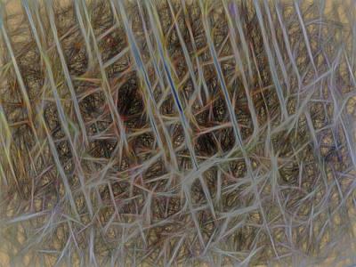 Digital Art - Strings Of Things by Leslie Montgomery