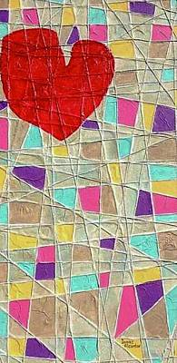 Painting - Strings To My Heart  by Isaac Alcantar
