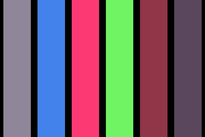Painting - Stripe - Zentao by REVAD David Riley