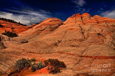 Photograph - Striped Candy Cliffs by Adam Jewell