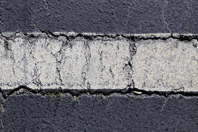 Photograph - Striped Line by Jim Clark