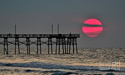 Photograph - Striped Sun by DJA Images