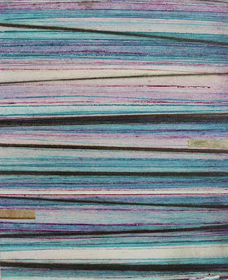 Mixed Media - Stripes 33 by Stacy Frank