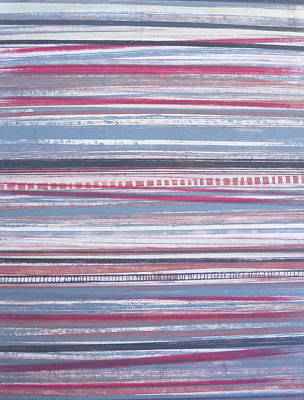 Mixed Media - Stripes 45 by Stacy Frank