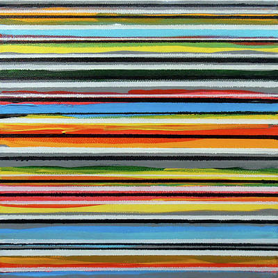 Painting - Stripes A by Stan  Magnan