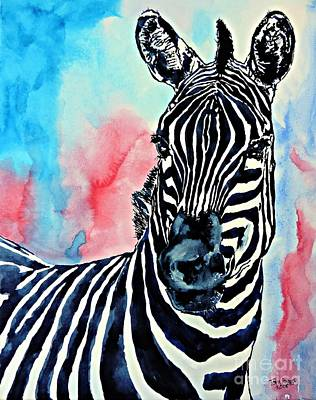 Painting - Stripes And A Mohawk by Tom Riggs