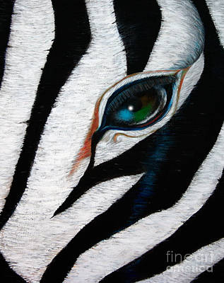 Painting - Stripes by A Wells Artworks